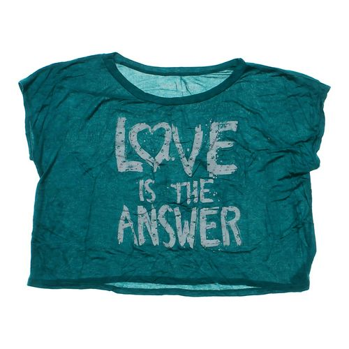 """Workshop """"Love Is The Answer"""" Shirt in size JR 0 at up to 95% Off - Swap.com"""