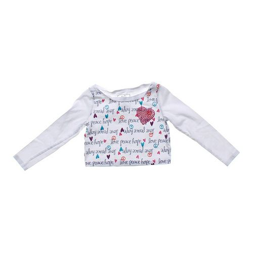 """Jenni Active """"Love & Peace"""" Shirt in size 4/4T at up to 95% Off - Swap.com"""