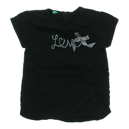 """United Colors of Benetton """"Love"""" Shirt in size 5/5T at up to 95% Off - Swap.com"""