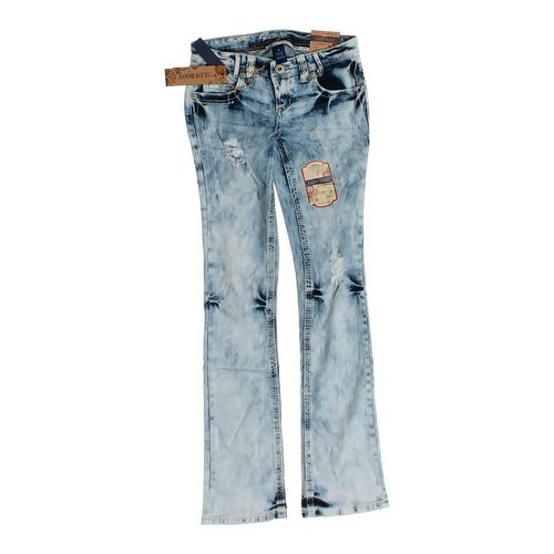 Amethyst Low-Rise Boot Cut Jeans in size JR 3 at up to 95% Off - Swap.com