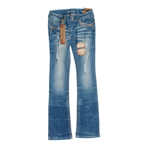 Amethyst Low Rise Slim Boot Jeans in size JR 0 at up to 95% Off - Swap.com