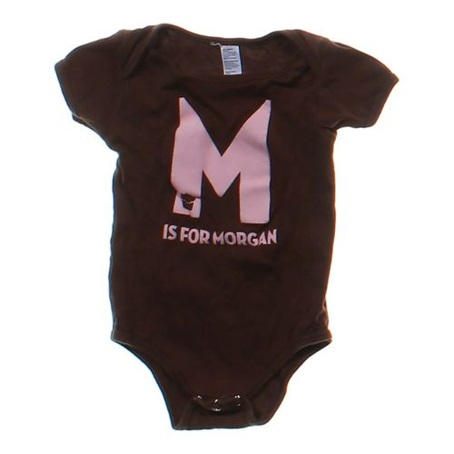 """""""M Is For Morgan"""" Bodysuit in size 6 mo at up to 95% Off - Swap.com"""