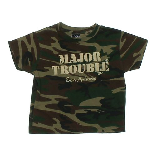 """Code 5 """"Major Trouble"""" T-shirt in size 4/4T at up to 95% Off - Swap.com"""