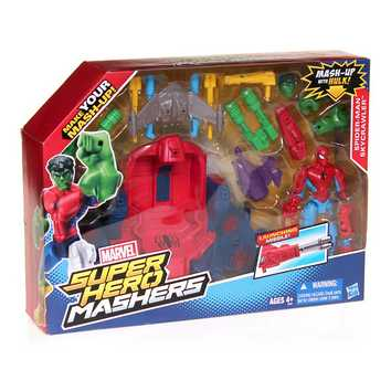 Marvel Super Hero Mashers Spider Man Sky Crawler Role Play Set for Sale on Swap.com