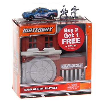 Matchbox Bank Alarm Playset with Die-Cast Car for Sale on Swap.com