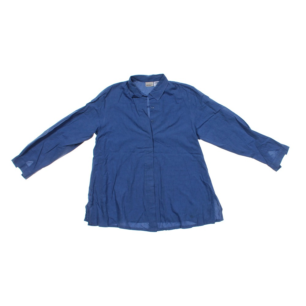 Announcements Maternity Maternity Button Up Shirt In Size