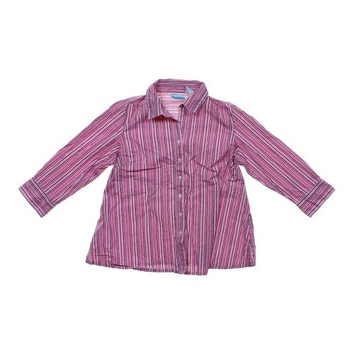 Announcements Maternity Maternity Button-up Shirt in size M (8-10) at up to 95% Off - Swap.com