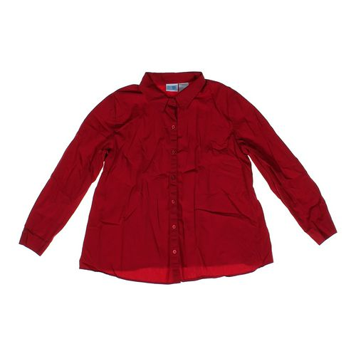 Baby & Me Maternity Button-up Shirt in size L (12-14) at up to 95% Off - Swap.com