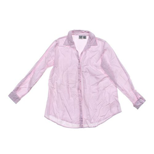 In Due Time Maternity Button-up Shirt in size M (8-10) at up to 95% Off - Swap.com
