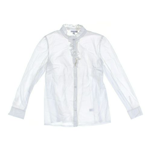Liz Lange Maternity Maternity Button-up Shirt in size M at up to 95% Off - Swap.com