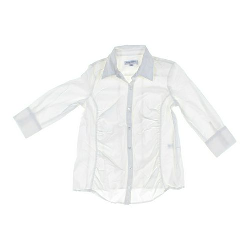 Liz Lange Maternity Maternity Button-up Shirt in size S at up to 95% Off - Swap.com