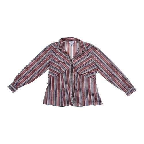 Two Hearts Maternity Button-up Shirt in size M (8-10) at up to 95% Off - Swap.com