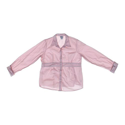 Oh Baby by Motherhood Maternity Shirt in size XL (16-18) at up to 95% Off - Swap.com