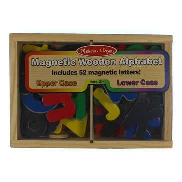 Melissa & Doug 52 Wooden Alphabet Magnets in a Box - Uppercase and Lowercase Letters [Letters] for Sale on Swap.com
