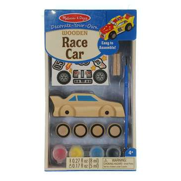 Melissa & Doug Decorate-Your-Own Wooden Race Car Craft Kit [DYO Race Car] for Sale on Swap.com