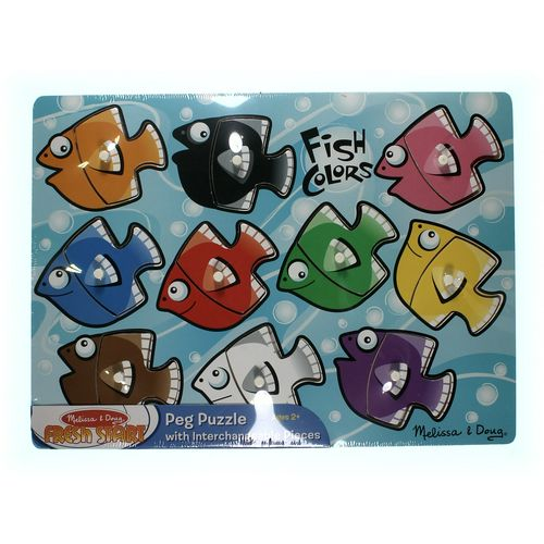 Melissa & Doug Melissa & Doug Fresh Start Peg Puzzle at up to 95% Off - Swap.com