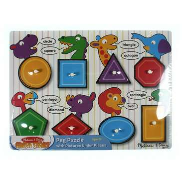 Melissa & Doug Fresh Start Peg Puzzle for Sale on Swap.com