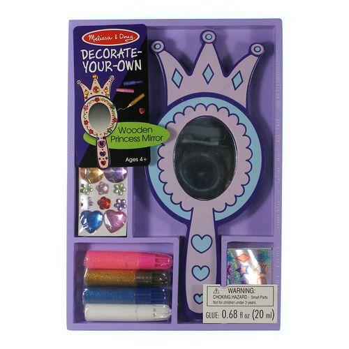 Melissa & Doug Melissa & Doug Wooden Princess Mirror - DYO at up to 95% Off - Swap.com