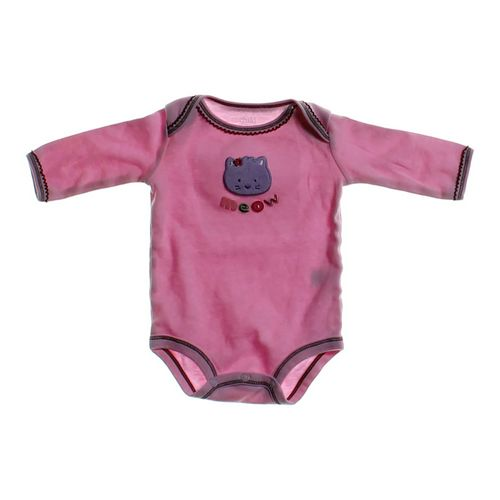 """Carter's """"Meow"""" Embroidered Bodysuit in size NB at up to 95% Off - Swap.com"""