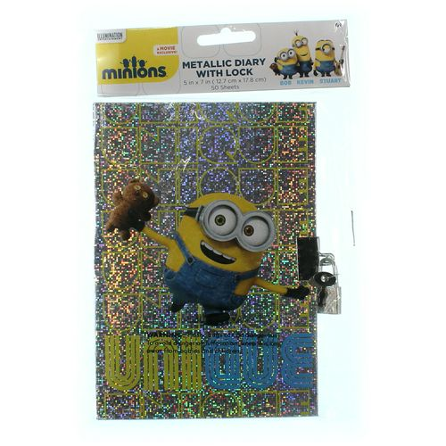 Metallic Diary With Lock at up to 95% Off - Swap.com