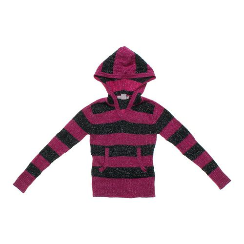 Heart crush Metallic Striped Hoodie in size 6 at up to 95% Off - Swap.com