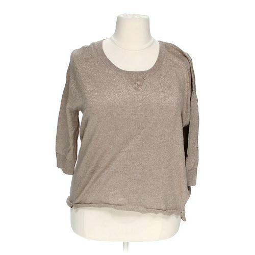 a.n.a Metallic Sweater in size 1X at up to 95% Off - Swap.com