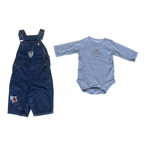 Disney Mickey Mouse Overalls Set in size NB at up to 95% Off - Swap.com