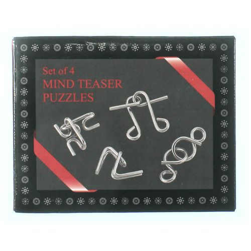 Mind Teaser Puzzles Puzzle at up to 95% Off - Swap.com
