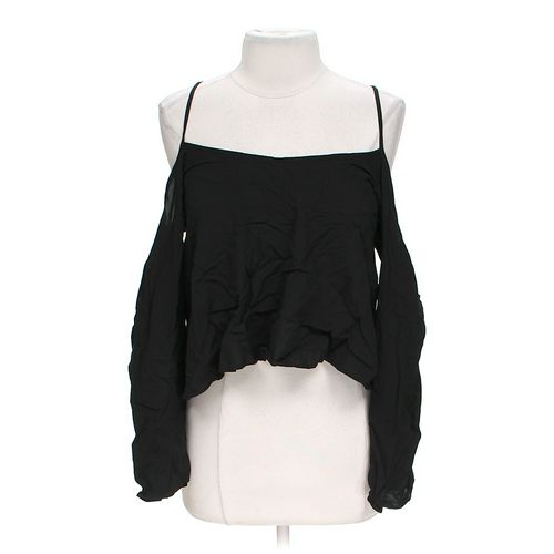 Body Central Mock Layer Blouse in size L at up to 95% Off - Swap.com