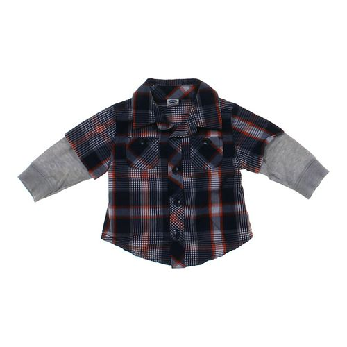 Old Navy Mock Layer Button-up in size 3 mo at up to 95% Off - Swap.com