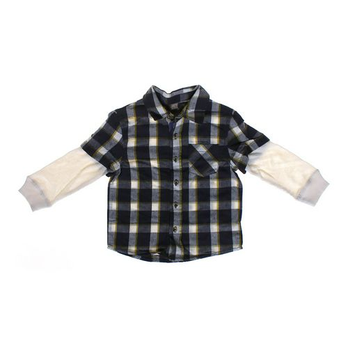 Cherokee Mock Layer Shirt in size 3/3T at up to 95% Off - Swap.com