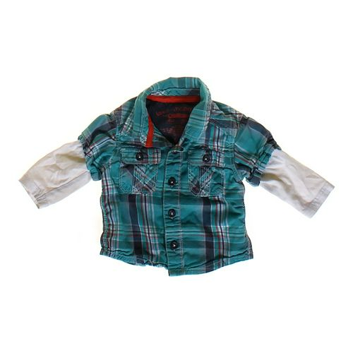 Genuine Kids from OshKosh Mock Layer Shirt in size 6 mo at up to 95% Off - Swap.com