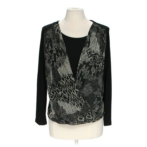 Kim Rogers Mock Layer Shirt in size M at up to 95% Off - Swap.com