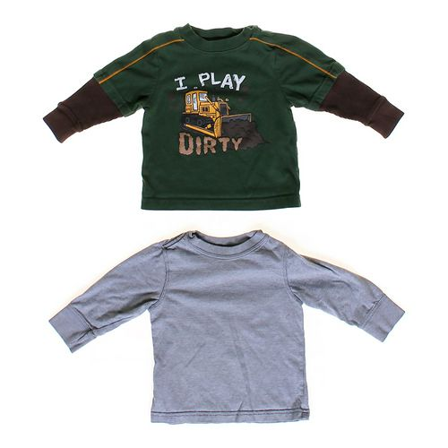 Old Navy Mock Layer Shirt & Shirt in size 12 mo at up to 95% Off - Swap.com