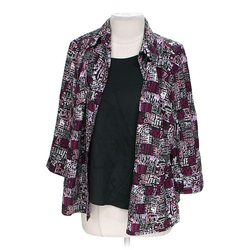 Notations Mock Layered Blouse in size 1X at up to 95% Off - Swap.com