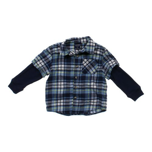 Cherokee Mock Layered Shirt in size 4/4T at up to 95% Off - Swap.com