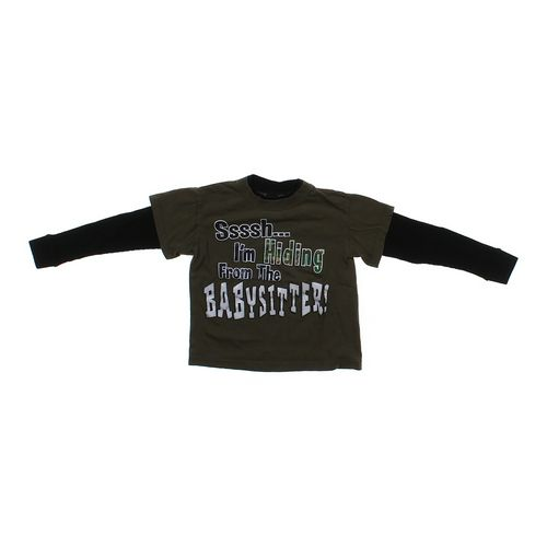 Hybrid Mock Layered Shirt in size 4/4T at up to 95% Off - Swap.com