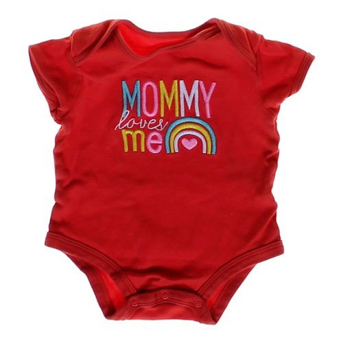 """Carter's """"Mommy Loves Me"""" Bodysuit in size 3 mo at up to 95% Off - Swap.com"""