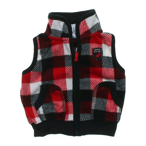 """Carter's """"Mommy's Big Guy"""" Fleece Vest in size 3 mo at up to 95% Off - Swap.com"""