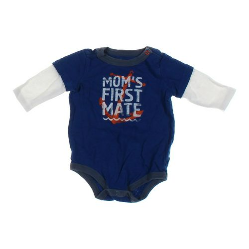 """Cherokee """"Mom's First Mate"""" Mock Layer Bodysuit in size NB at up to 95% Off - Swap.com"""