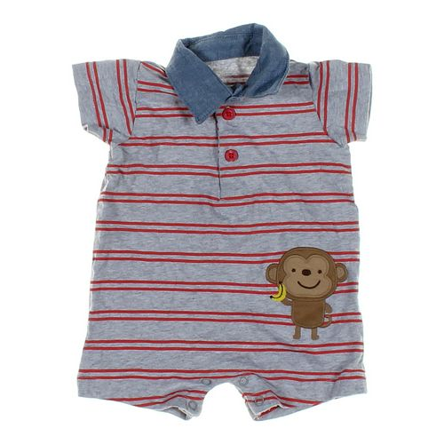 Just One You Monkey Romper in size 3 mo at up to 95% Off - Swap.com