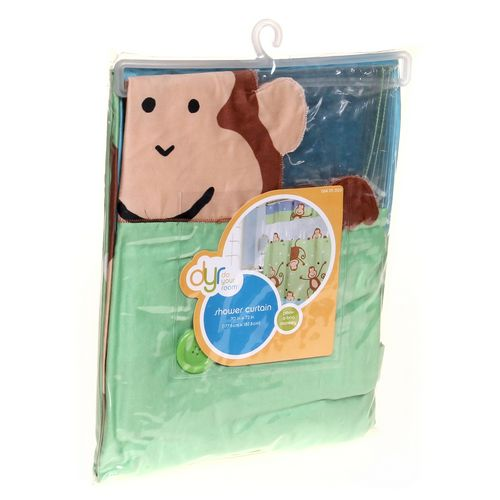 Do Your room Monkey Shower Curtain at up to 95% Off - Swap.com