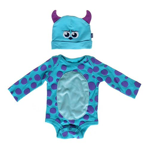 Disney Monster Bodysuit & Hat in size 6 mo at up to 95% Off - Swap.com