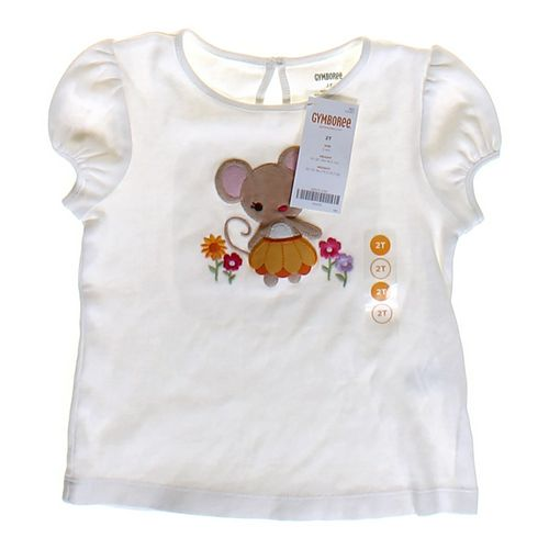 Gymboree Mouse T-shirt in size 2/2T at up to 95% Off - Swap.com
