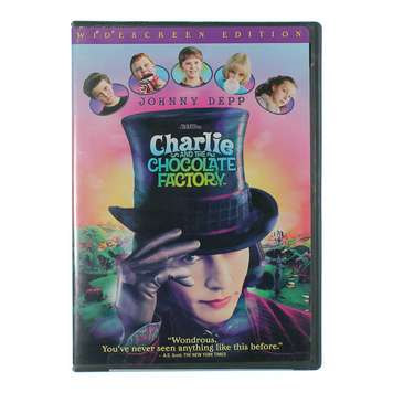 Movie: Charlie and the Chocolate Factory for Sale on Swap.com