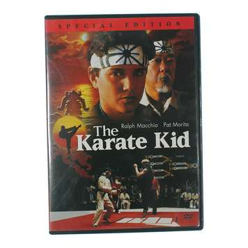 Movie: COLUMBIA TRISTAR HOME VIDEO The Karate Kid for Sale on Swap.com