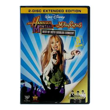 Movie: Hannah Montana & Miley Cyrus: Best of Both Worlds Concert for Sale on Swap.com