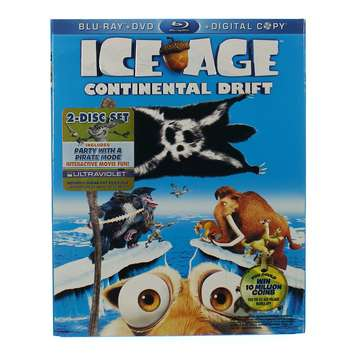 Movie: Ice Age: Continental Drift for Sale on Swap.com