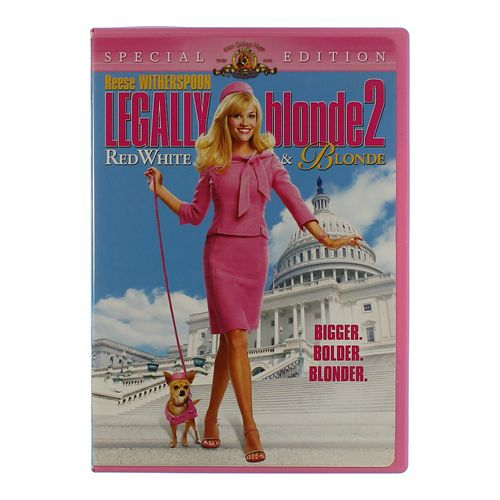 Movie: Legally Blonde 2 - Red, White & Blonde at up to 95% Off - Swap.com