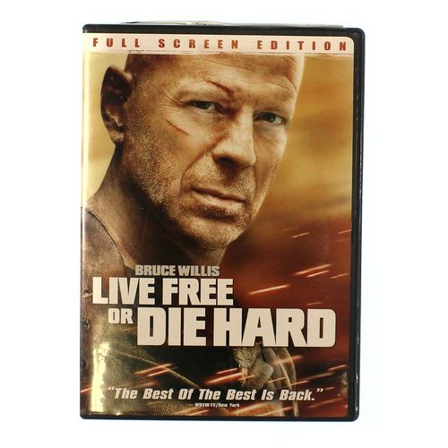 Movie: Live Free or Die Hard (Full Screen Edition) at up to 95% Off - Swap.com